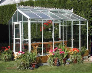 used glass green house for sale
