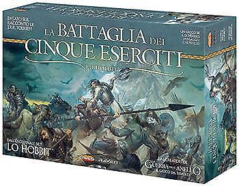 Lo Hobbit - La Battaglia dei Cinque Eserciti Gioco da Tavolo NUOVO ITALIANO