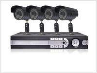 4 Camera Home CCTV System with Internet Access