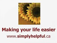 Save 25% off SimplyHelpful.ca Services & Meals
