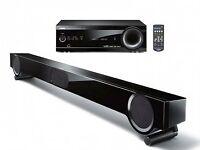 Yamaha TV Sound Bar and Hi Fi Tuner