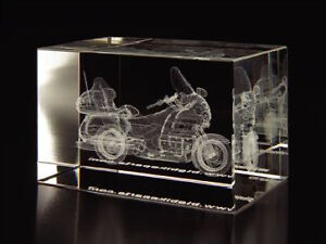 30 % OFF ETCHED CRYSTAL GL1800 PAPER WEIGHT ONLY AT KANATA HONDA
