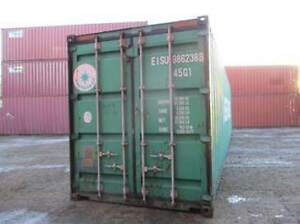 40'HC Steel Shipping Container Discounted!