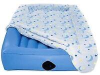 Kids Aero bed camping
