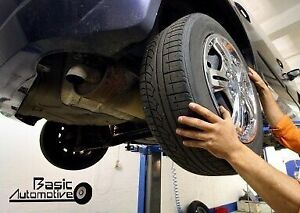 TIRE CHANGE OVER AND BALANCE - Starting $15.00 ea