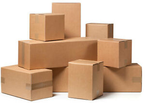 100+ carton boxes for moving house, condo or apartment