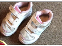 Girls trainers and crocs size 9