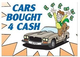 Used car wanted cash on collection we pay more than scrap sell my car
