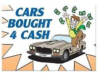 Cars bought for cash!!