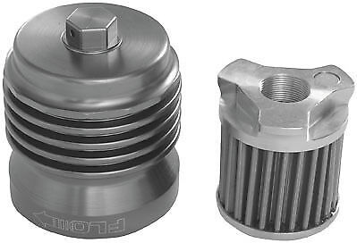 PC Racing Flo Spin On Stainless Steel Oil Filter 98-15 Honda VFR800F/X