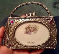 ** BRAND NEW ** METAL PURSE PICTURE FRAME