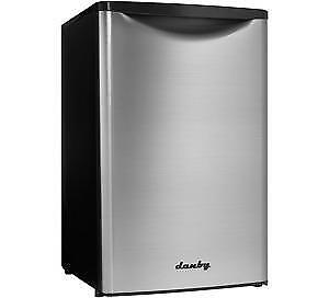 MASSIVE CLEARANCE ON ALL 4.4 cu. foot COMPACT FRIDGES!!! STAINLESS STEEL!!