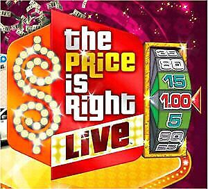 Price is right tickets
