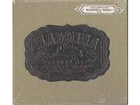 "MADONNA ""Music"" album, European Limited Edition CD in beige, hardback hessian book"
