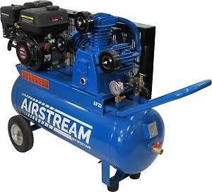 WestAir Air Compressor - Petrol 20CFM 70Litre Tank 200CC Engine Bibra Lake Cockburn Area Preview