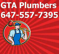 Licensed Toronto Plumbers - Free Fast Quote Call: 647-557-7395