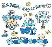 Boy Scrapbook Stickers