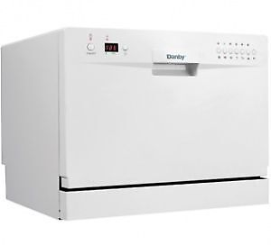 Danby 6 Place Setting Dishwasher, Model #: DDW611WLED