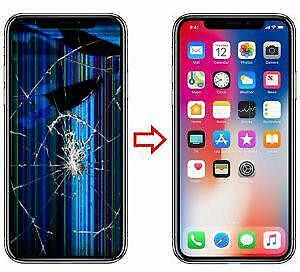iPhone X Xr cracked screen display LCD repair FAST **