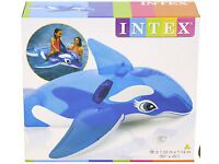 Intex Inflatable Ride-on Dolphin Inflatable pool toy 3yrs- 40kg - NEW