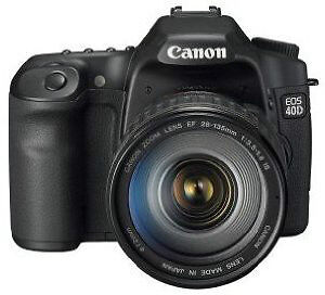 Canon 40D Digital SLR Complete Ultimate Camera Outfit – Like NEW