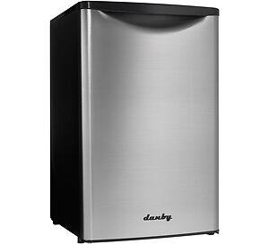 Mini frigo Danby 20'', Stainless et noir