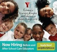 School Age Child Care is hiring for Supervisors!