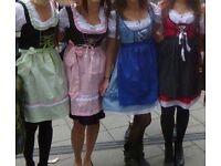 Oktoberfest German Dirndl dress