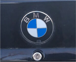 E36 coupe trunk lid