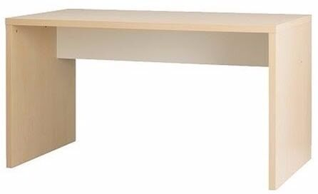 ikea mikael desk birch office desk and classic eames office chair for additional 25 in. Black Bedroom Furniture Sets. Home Design Ideas