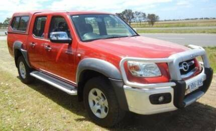 2009 Mazda BT-50 Dual Cab with Canopy Sunshine West Brimbank Area Preview