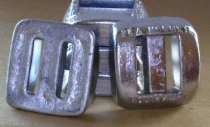 NEW 3Lb Lead Dive Weights $9.00 Scuba Spearfishing Salisbury Brisbane South West Preview