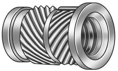 Zoro Select 1Guc3 Ultrasonic Insert,3/8-16,Straight,Pk25