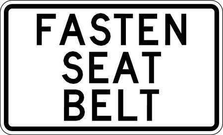 Lyle Sb-012-18Ha Traffic Sign,12 X 18In,Bk/Wht,Text
