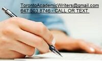 High Quality Essay written by MA/PHDs in TORONTO 647-503-8746