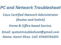 PC,Laptop and Network Technician