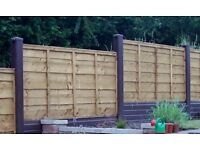 ROT PROOF SLOTTED FENCE POSTS