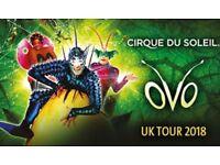 Cirque Du Soleil OVO BELFAST - Saturday 20th Oct 2018