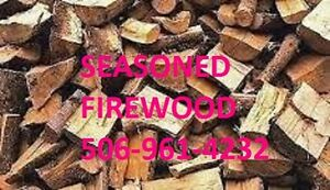 DRY Seasoned Firewood, Cut Split and Delivery Available