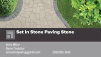 Set In Stone Paving and landscaping.