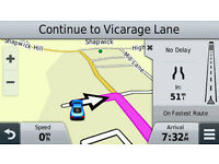Garmin Nuvi 56LMT Sat Nav - as new - Lifetime Maps and Traffic - Speed Cameras plus accessories