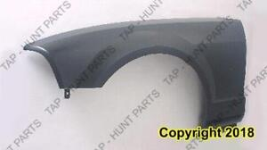 Fender Front Passenger Side With Emblem Hole Ford Mustang 2005-2009