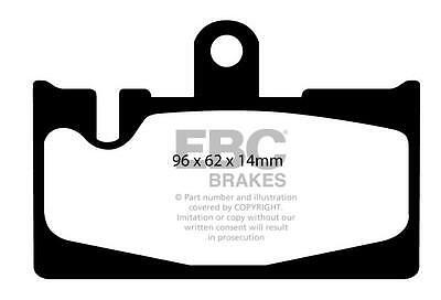 Brake Pad Set EBC DP1397 Fits Rear