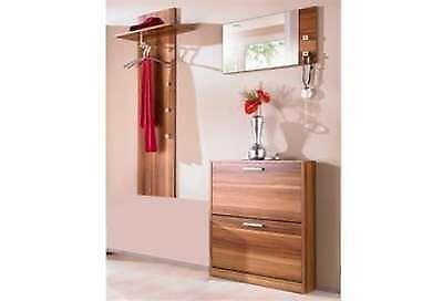 garderobe nussbaum m bel wohnen ebay. Black Bedroom Furniture Sets. Home Design Ideas