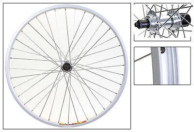 Wheel Rear 700c Weinmann ZAC19 Silver 36 Alloy 8S CASS Silver SS2.0SL