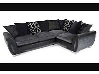 4 SEATER CORNER SOFA from DFS , Soft Fabric , Good Condition.