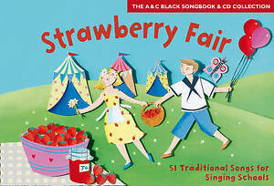 Strawberry Fair; Book + CD; Vocal; Book with CD, ACB0713658323