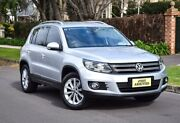 2014 Volkswagen Tiguan 5N MY15 130TDI DSG 4MOTION Silver 7 Speed Sports Automatic Dual Clutch Wagon Medindie Walkerville Area Preview