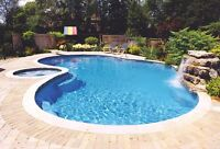 Book your swimming pool opening