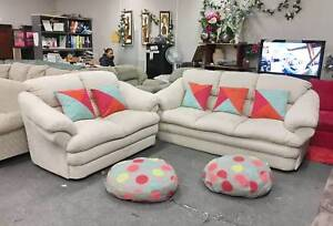 TODAY DELIVERY EXTREMELY COMFORTABLE 3x2 MODERN sofas couch SALE Belmont Belmont Area Preview